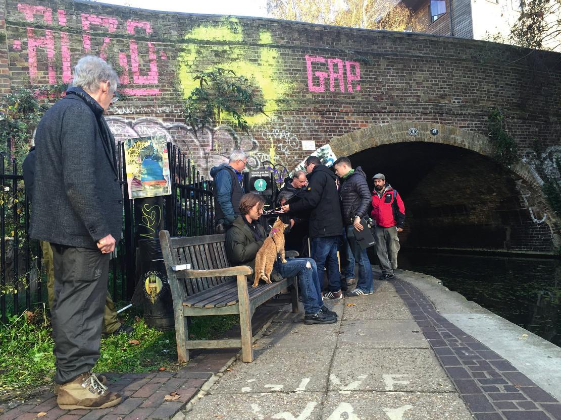 Street Cat Named Bob Filming Locations
